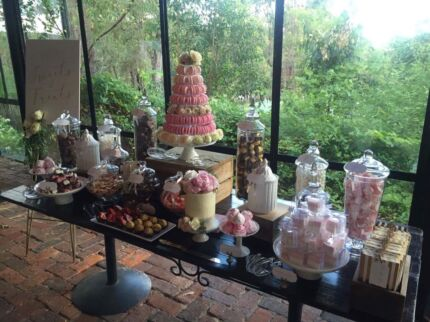 Lolly dessert table items