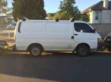 Toyota Hiace 1999 model CHEAP NEEDS BLUE SLIP MECHANICAL PERFECT VAN Merrylands Parramatta Area Preview
