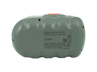 1700mAh Batería para Bosch Gsb 24 VE-2/N, GSR 24 VE-2, VE-2/N