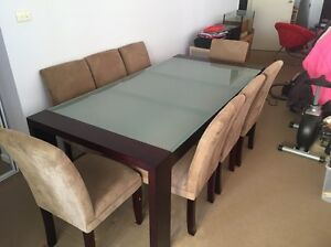 Dining table 8 chairs Winston Hills Parramatta Area Preview