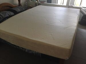 Tempur 20cm Queen Mattress Castle Cove Willoughby Area Preview
