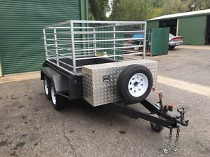 8x5 tandem trailer built to order heavy duty. Smithfield Playford Area Preview