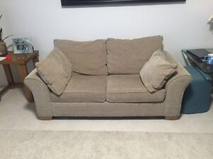 Cream beige neutral Lounge suite couch sofa bed Greenwood Joondalup Area Preview