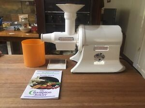 Champion Juicer Nimbin Lismore Area Preview