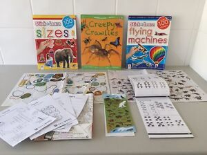 Activity pack - stickers, puzzles, activities, learning fun Butler Wanneroo Area Preview