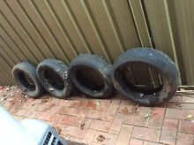 FREE TIRES X 4 Myrtle Bank Unley Area Preview