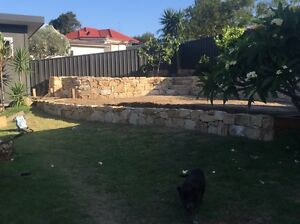 Sandstone Wall Albion Park Shellharbour Area Preview
