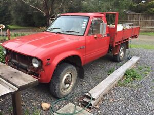 1981 Toyota Hilux Langwarrin Frankston Area Preview