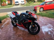 Suzuki gsxr 750 2014 very low ks one owner Caroline Springs Melton Area Preview