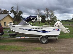 2006 Quintrex 420 Estuary Angler Warragul Baw Baw Area Preview