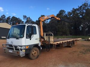 Hino 5T crane truck 8m tray Gidgegannup Swan Area Preview