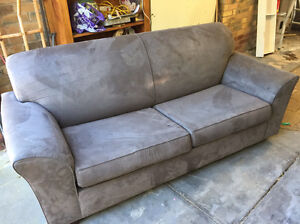 Fold out sofa couch double bed West Beach West Torrens Area Preview