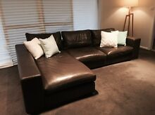 Leather Lounge - Custom Made Jannali Sutherland Area Preview