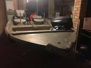 Unwanted gift - Dinghy, 2outboards and trailer Rockingham Rockingham Area Preview