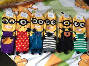 Minion sock ARIES super hero Banyo Brisbane North East Preview