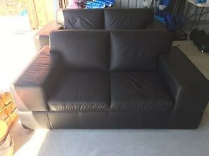 For sale leather 4 seater lounge Mundaring Mundaring Area Preview