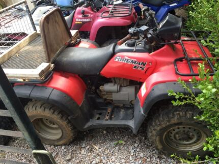 Wanted: Cash paid for farm quads (dead or alive)
