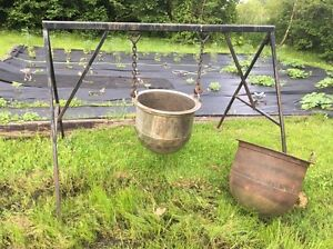 Heavy duty frame and pots