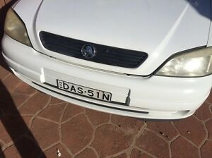 Holden Astra ts 98/05 front bumper Hassall Grove Blacktown Area Preview