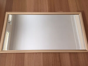 Framed beveled mirror 1300mm x 670mm Frenchs Forest Warringah Area Preview