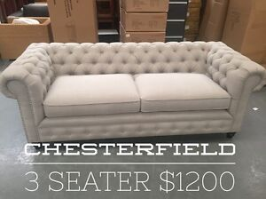 Chesterfield Style Sofas - 50% off RRP Dandenong South Greater Dandenong Preview