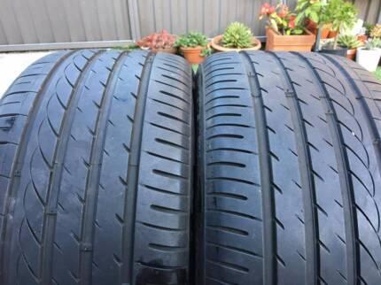 Near new 255/35/18 Zeta Alventi tyres