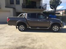 MITSUBISHI TRITON GLXR DUEL CAB 4X4 AUTO turbo diesel 45,000kms Tamworth Tamworth City Preview