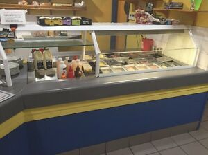 Salad bar and double hot Bain Marie Osborne Park Stirling Area Preview