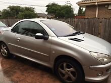 Selling Peugoet 206cc 2004  convertible St Albans Brimbank Area Preview