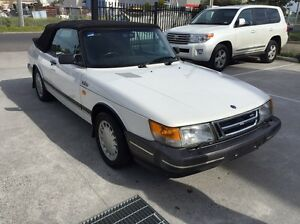 FOR SALE 1987 SAAB 900 CABRIOLET TURBO Somerton Hume Area Preview