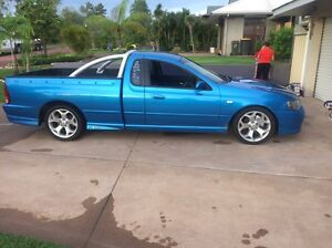 Ford XR8 ute 153000 ks auto cold aircon drives A1 Gray Palmerston Area Preview