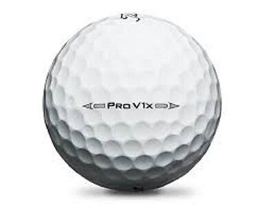 50 Mint Titleist Pro V1X 2016 Used Golf Balls AAAAA