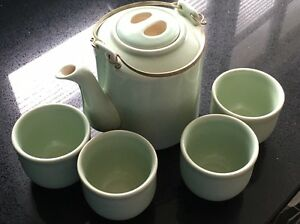 Tea set, Japanese style tea pot and cups Seven Hills Brisbane South East Preview