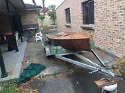 Sail boat wooden Leppington Camden Area Preview