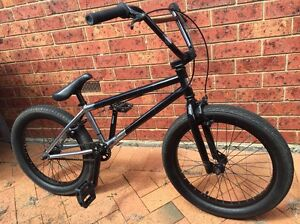 BMX Kink Black Excellent Condition Mill Park Whittlesea Area Preview