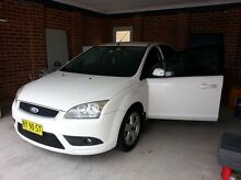 2007 Ford Focus LX hatchback low km long rego Lidcombe Auburn Area Preview