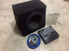 Kenwood 12inch amp and subwoofer Fg ute Bligh Park Hawkesbury Area Preview