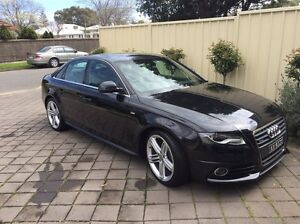 2009 Audi A4 2.0T Quattro S Line - 63,00km Glengowrie Marion Area Preview