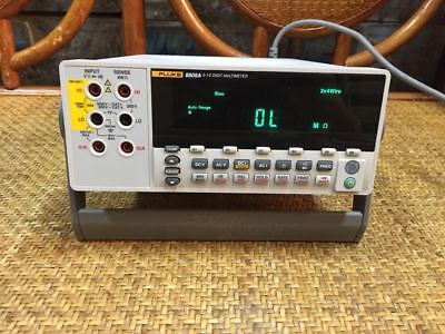 Fluke 8808a 5.5 Digital Bench Multimeter By Ems Or Dhl 90days Warrant H769g Dx