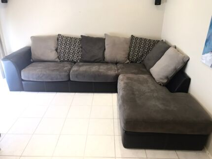 Leather recliner sofa sleeper sectional
