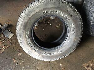 Maxxis tyres 275/70 16 Landcruiser Patrol Cockatoo Cardinia Area Preview