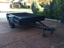 7x5 Heavy duty trailer with cage Beaconsfield Cardinia Area Preview