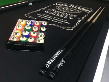 Jack Daniels Pool Table Italian Slate Brand New Best Quality