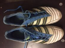 Adidas Predator white/blue/yellow boots Coorparoo Brisbane South East Preview