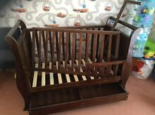 Sleigh cot 3 in 1 Aspendale Gardens Kingston Area Preview