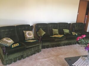 Green Retro 1970's couch Cabramatta West Fairfield Area Preview