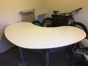 Bean shape office desk Centennial Park Eastern Suburbs Preview
