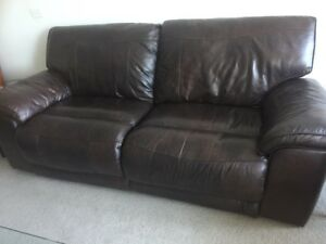 Genuine Leather Recliner Couch Sofas Gumtree Australia Melbourne
