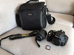 Nikon DSLR D5100 + 18-55mm VR lens kit Craigieburn Hume Area Preview