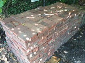 Clay red brick pavers seconds Sheidow Park Marion Area Preview